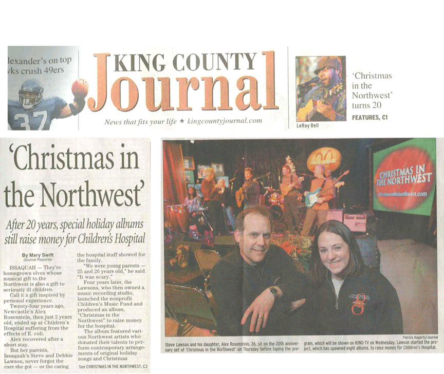 Steve Lawson -Christmas in the Northwest King County Journal 2005