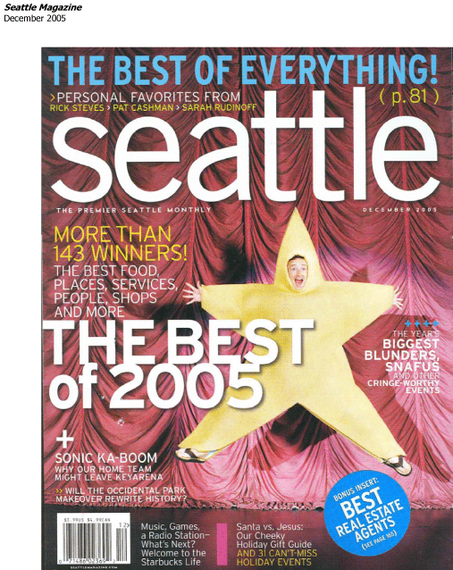 Christmas in the Northwest in Seattle Magazine 2005